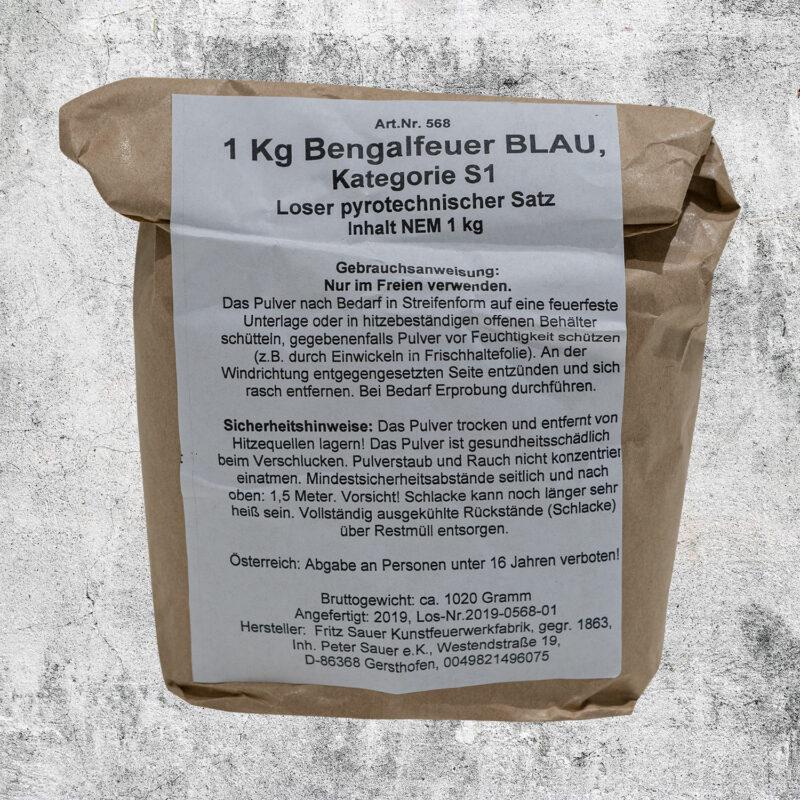Bengalpulver blau