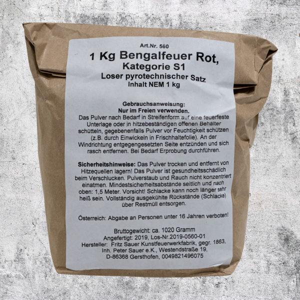 Bengalpulver rot