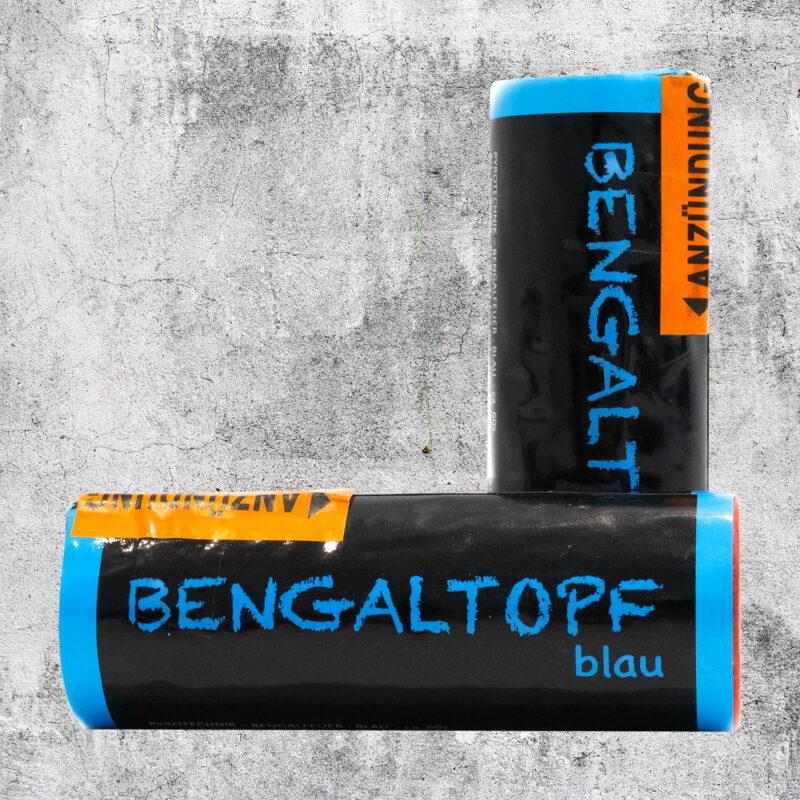 Bengaltopf blau