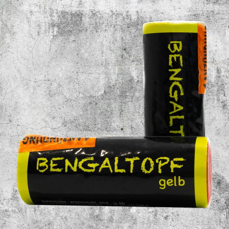 Bengaltopf gelb