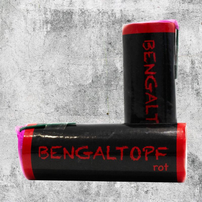 Bengaltopf rot