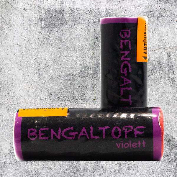 Bengaltopf violett