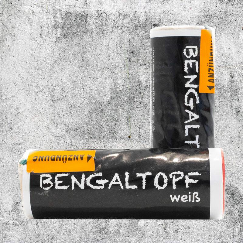 Bengaltopf weiß