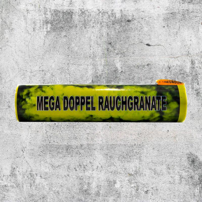 Mega Doppelrauch Granate gelb