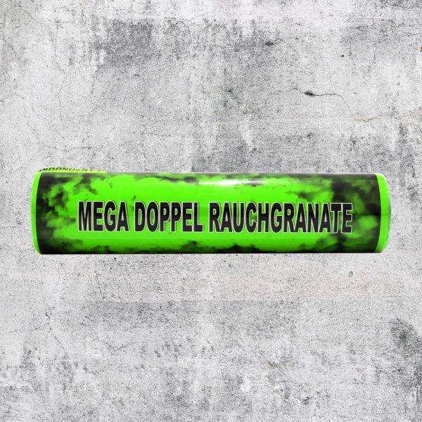 Mega Doppelrauch Granate grün
