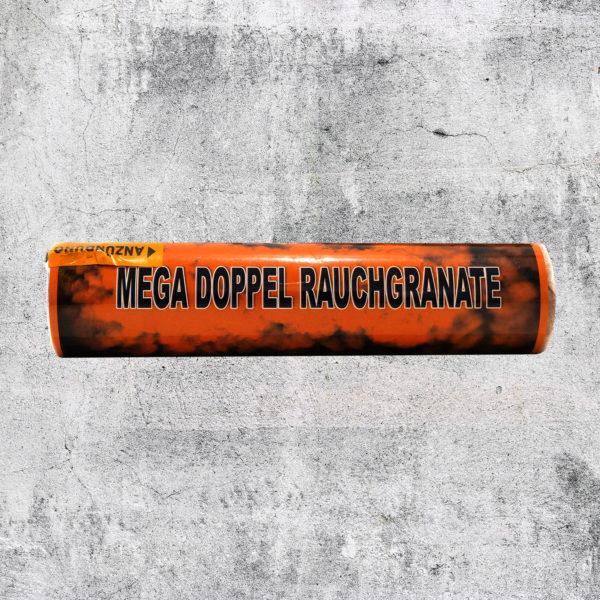 Mega Doppelrauch Granate orange