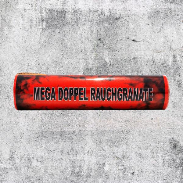 Mega Doppelrauch Granate rot