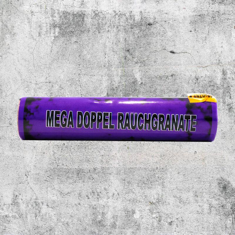 Mega Doppelrauch Granate violett