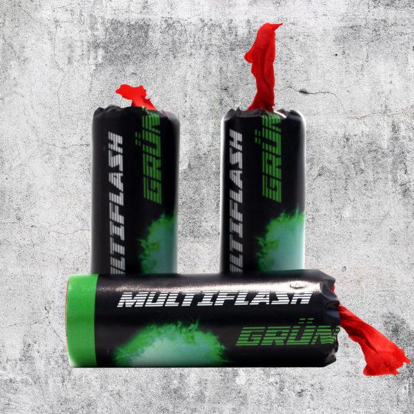 Multiflash grün