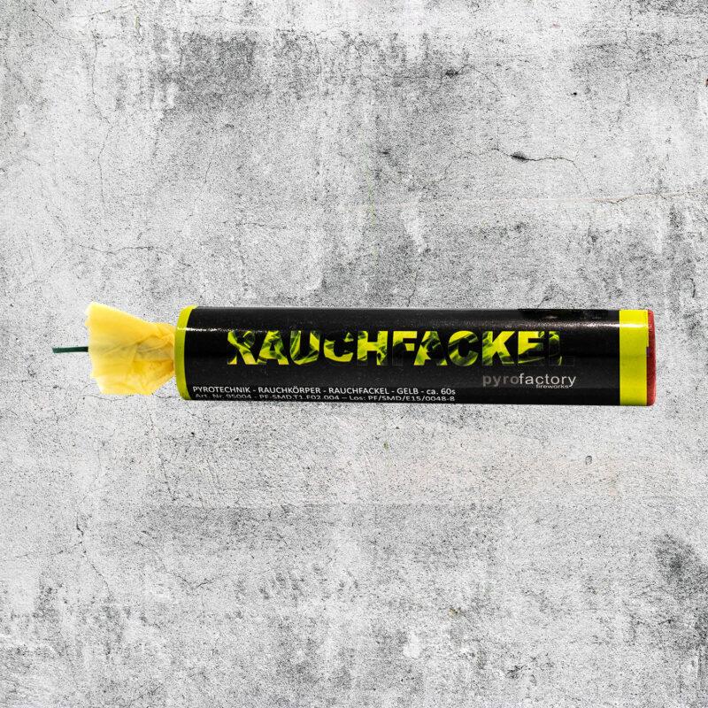 Rauchfackel gelb