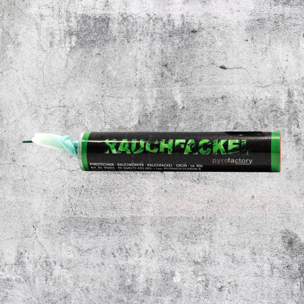 Rauchfackel grün