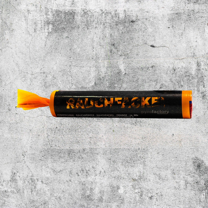 Rauchfackel orange