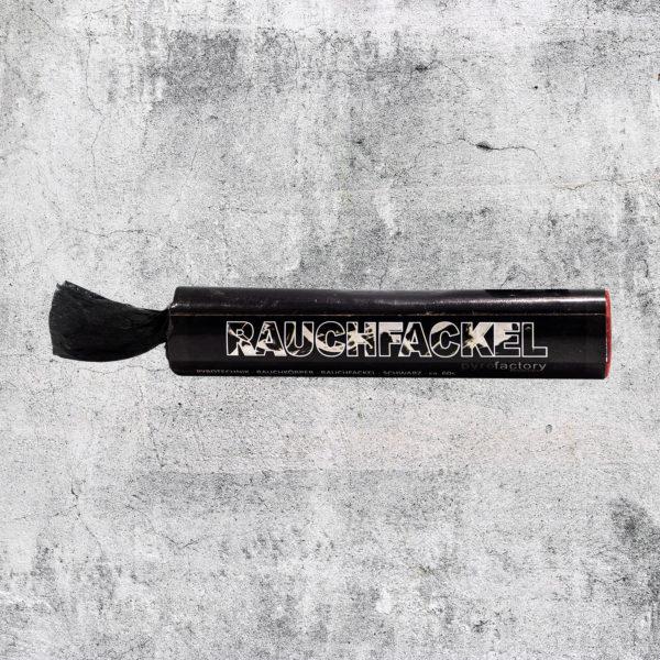 Rauchfackel schwarz
