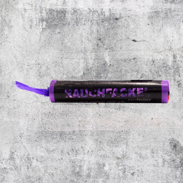 Rauchfackel violett