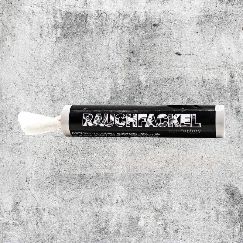 Rauchfackel weiß