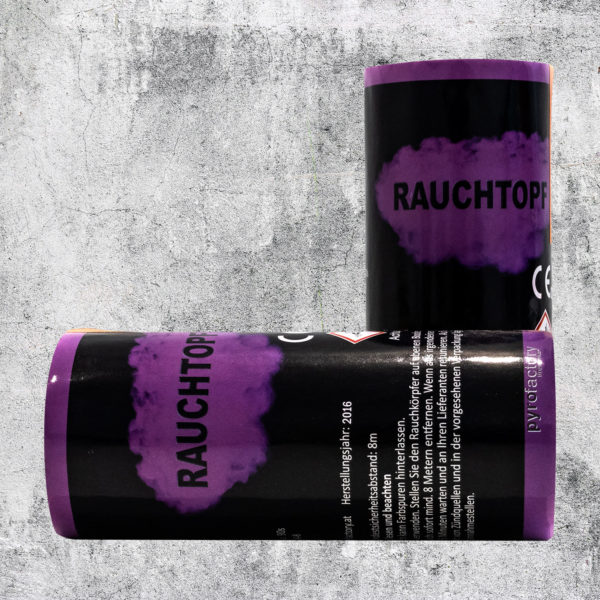 Rauchtopf violett