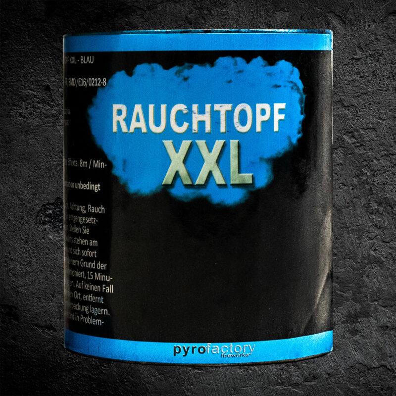 Rauchtopf XXL blau