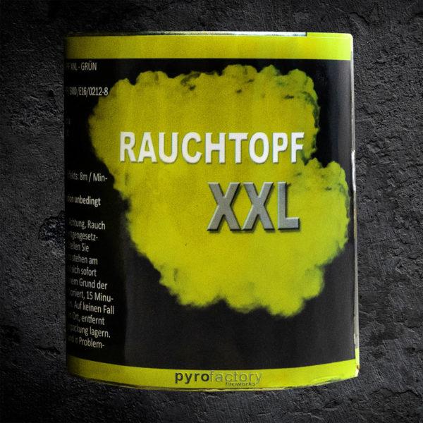 Rauchtopf XXL gelb