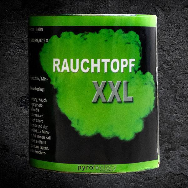 Rauchtopf XXL grün
