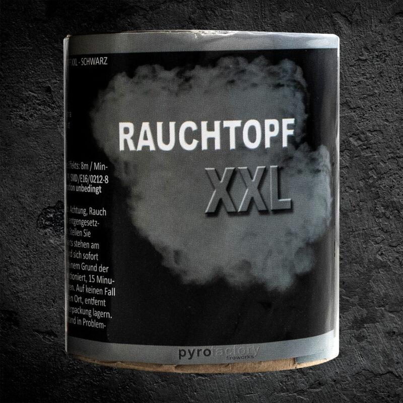 Rauchtopf XXL schwarz