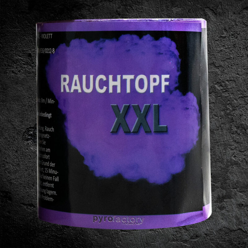 Rauchtopf XXL violett