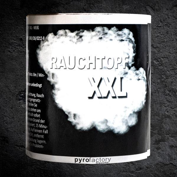 Rauchtopf XXL weiß