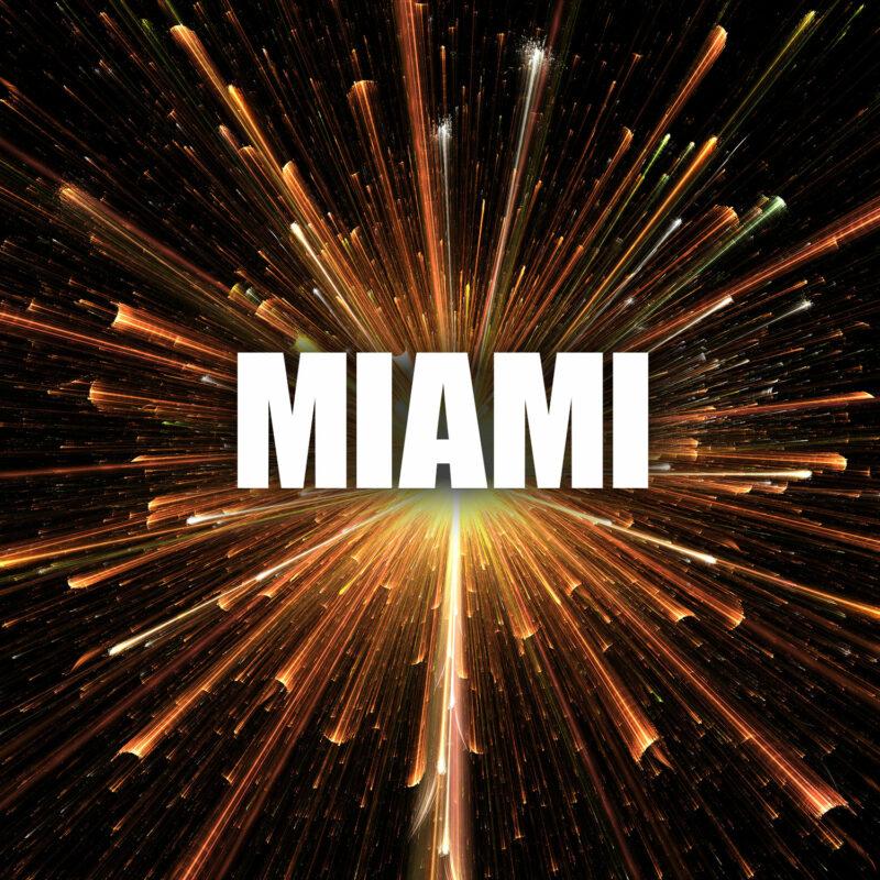Profifeuerwerk Miami